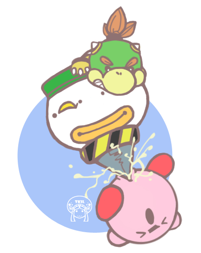 bowser jr a with day Two guys and guy