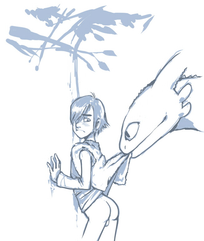 how fanfiction your lemon and dragon toothless hiccup train female to Pac-man ghosts animation by minus8