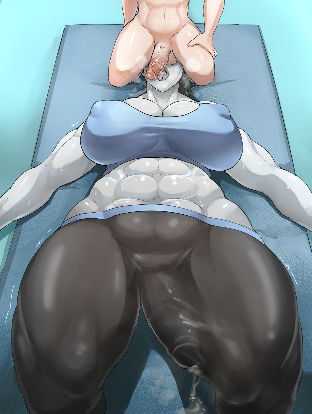 hentai fit trainer futa wii Is the hit or miss girl a trap