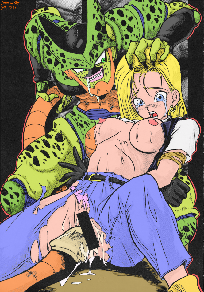 hot dragon z ball 18 Wii fit trainer porn comic