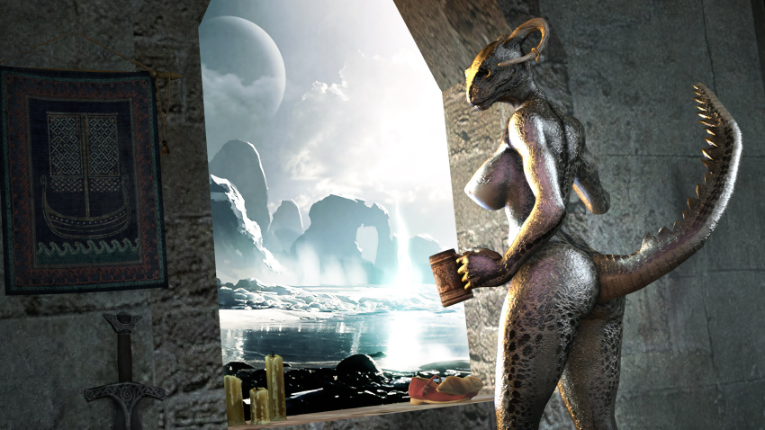 comic the argonian lusty maid Angel lady and the tramp 2