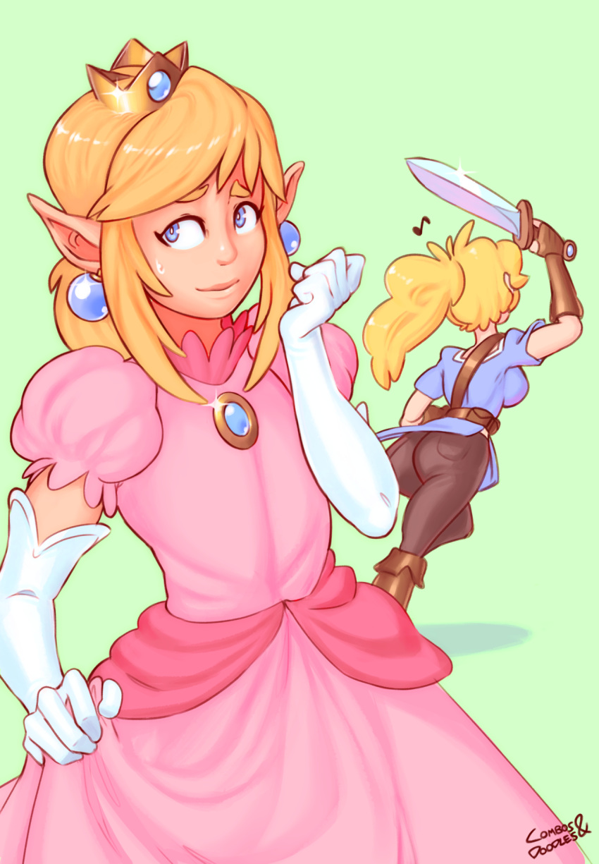 daisy fat peach and princess Witcher 3 the unseen elder