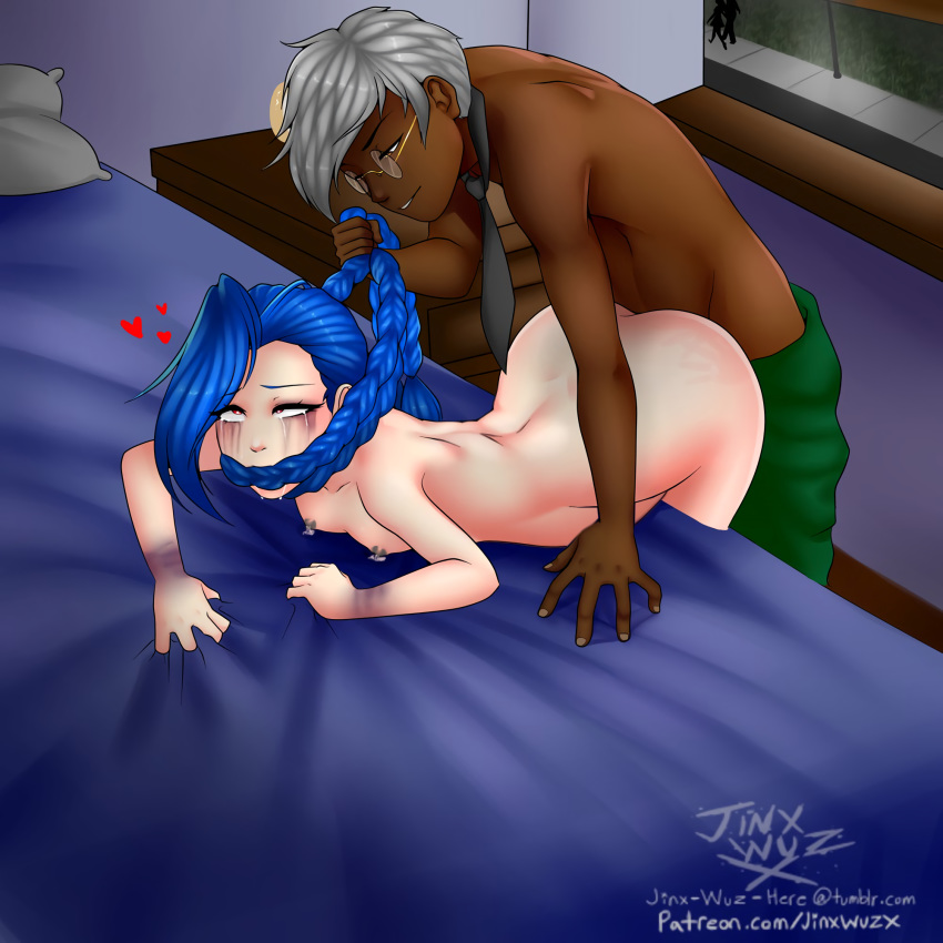 league drawing jinx of legends 3d girl raped by monster