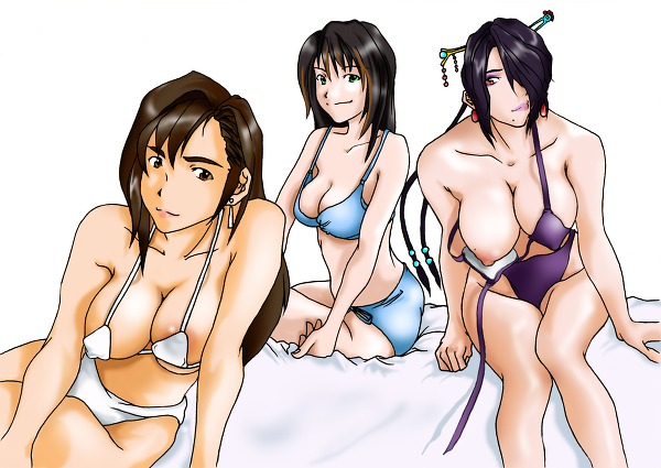 final tifa fantasy Maiden with the eyes of blue