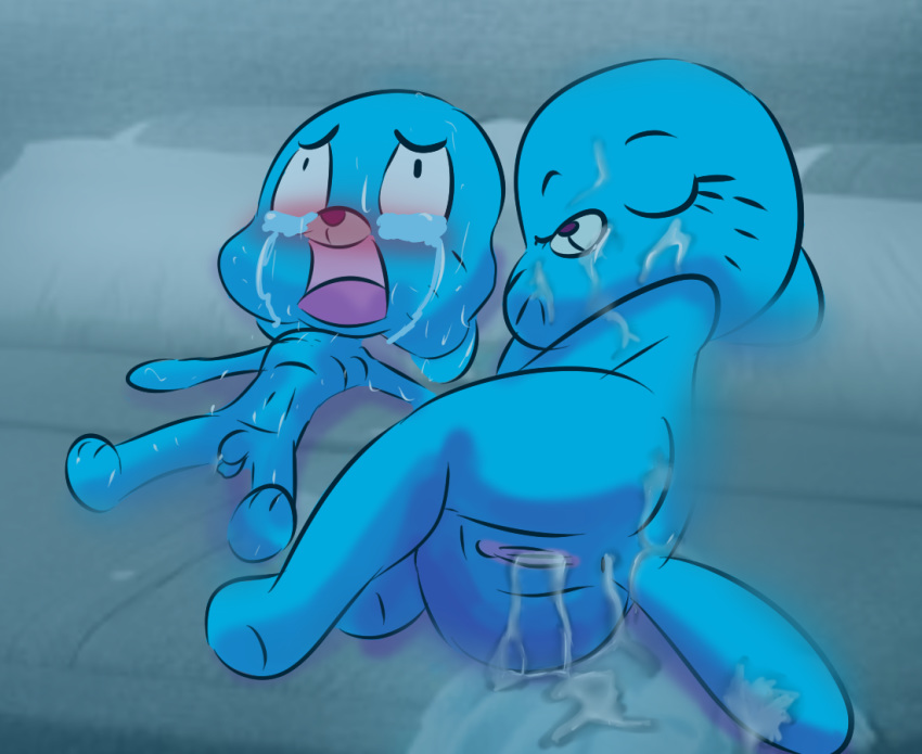 larry world amazing gumball of Jeff the killer and jane the killer kiss